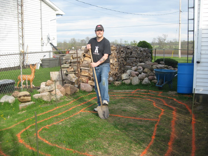 Homeowner DIY Pond Project