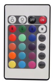16 color remote