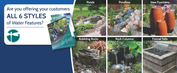 6 types of water features