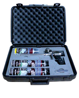 Contractor Black Foam Kit with Case