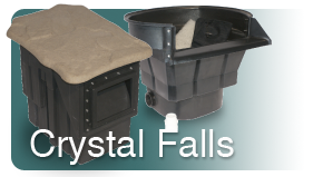 Pondless waterfall guide thank you for Crystal falls builders