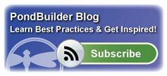 PondBuilder Blog Subscription
