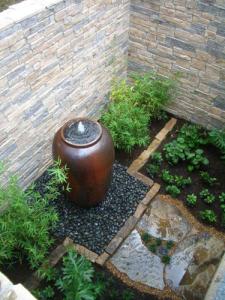 Medium Fountain Basin, Pump Chamber, Fountain