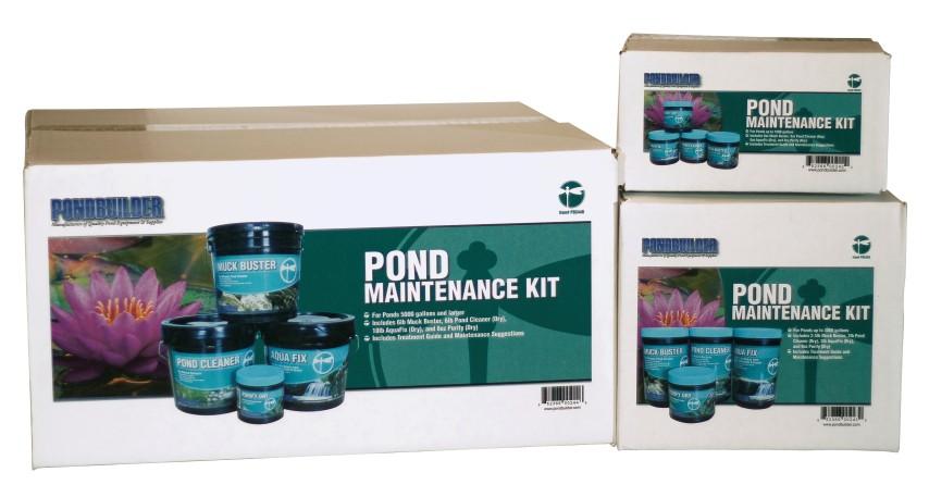 Pond Maintenance Kit, Pond Water Treatments, Pond Care, pond maintenance