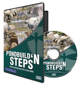 PBD pond steps DVD
