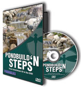 PondBuilder Pond Build Steps DVD