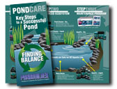PondBuilder water treatments, beneficial bacteria, pond care, algae control