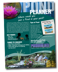 pond planner