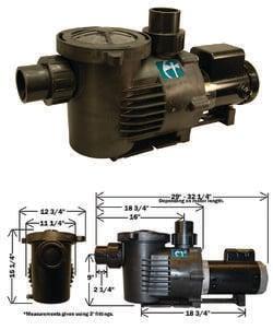 PondBuilder External Pump