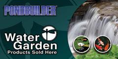 Water Garden banner 2x4
