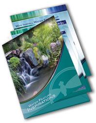Contractor Sales Kit, Water Garden Inspiration, Landscape bids, Pond resources
