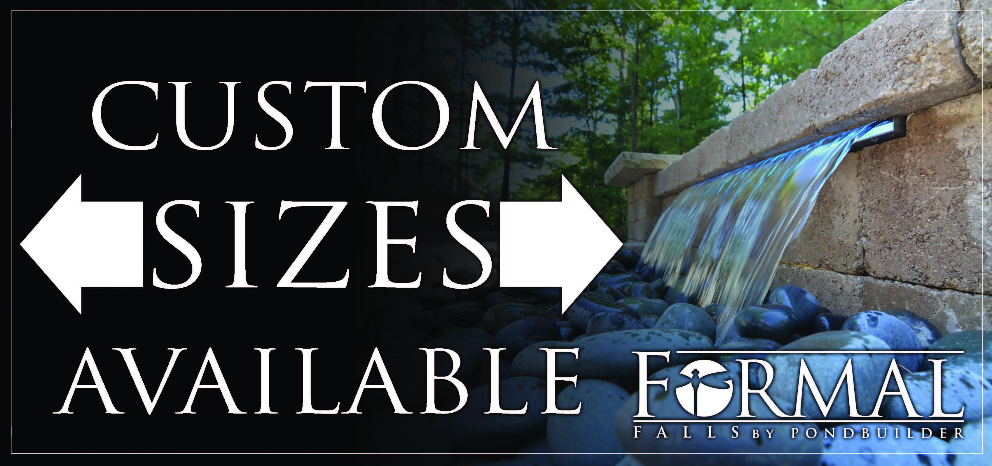 Custom Formal Falls by PondBuilder