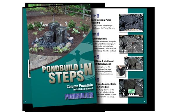 basalt column fountain kit