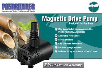 PBD mag drive label