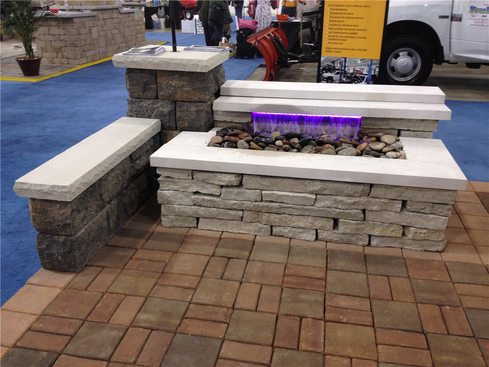 Incorporating natural stone finishes can really change the look depending on what texture, material color choice and style are needed.